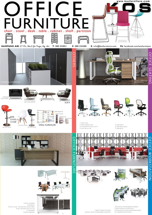 High Quality K O S: Modern And Contemporary Office Furniture Supplier In Kota Kinabalu