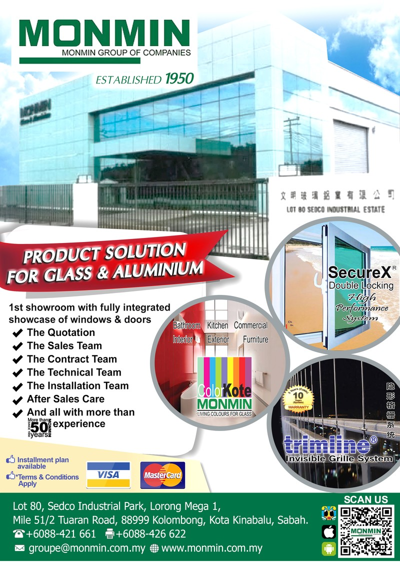 Window grille kota kinabalu -  Facebook Monmin Groupe Of Companies